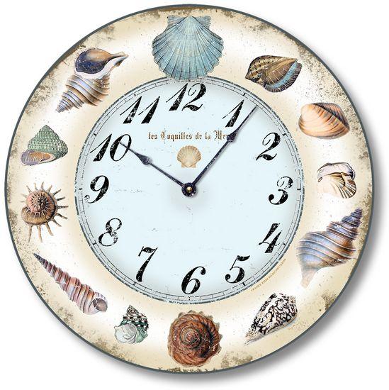 Seashell clock fairy for Seashell clock
