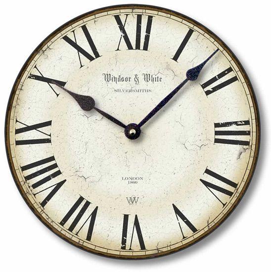 Traditional Roman Numerals Clock Fairy Freckles Com