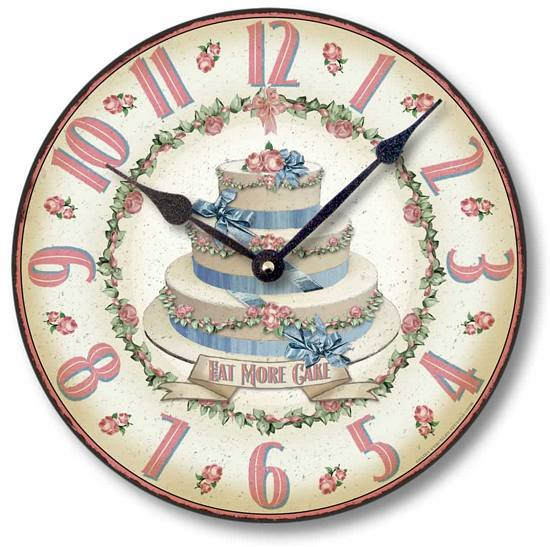 Item C8736 Decorated Cake Clock