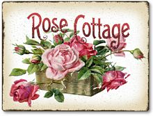 Item 1031 Rose Cottage Plaque