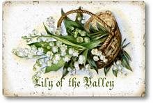 Item 112807 Lily of the Valley Plaque