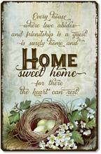 Item 1207 Home Sweet Home Plaque