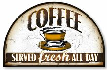 Item 136 Vintage Style Coffee Sign