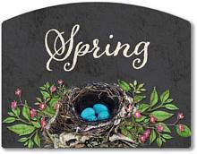 Item 2025 Chalkboard Style Spring Season Sign