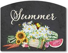 Item 2026 Chalkboard Style Summer Season Sign