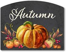 Item 2027 Chalkboard Style Autumn Season Sign
