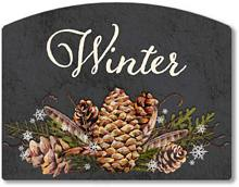 Item 2028 Chalkboard Style Winter Season Sign