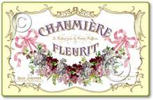 Item 5311 Vintage Style French Perfume Label Plaque