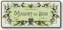 Item 726 French Vintage Soap Label Plaque