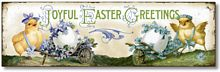 Item 8508 Vintage Style Easter Plaque