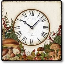 Item C8720 Woodland Mushrooms Clock