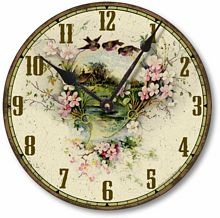 Item C2038 Vintage Victorian Style Country Cottage Clock