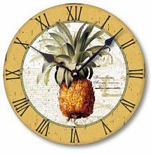 Item C2100 Vintage British Colonial Style Pineapple Clock