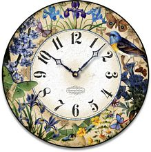Item C2120 Nature's Blue Gems Clock