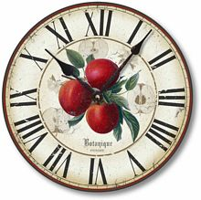 Item C8202 Vintage Style 12 Inch Apple Clock