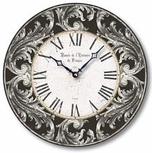 Item C8242 Acanthus Leaves Clock