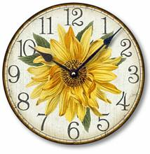 Item C8303 Vintage Style Sunflower Clock