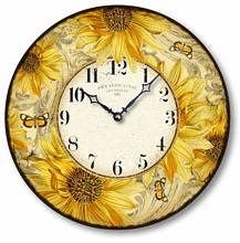 Item C8829 Vintage Style Sunflower Clock