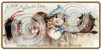 Item 05004 Victorian Children Plaque